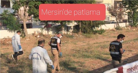 Mersin'de Forum yakınlarında patlama ,1 yaralı