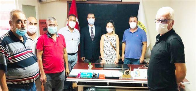 Tarsus CHP'den Süt Üreticileri Birliği'ne ziyaret