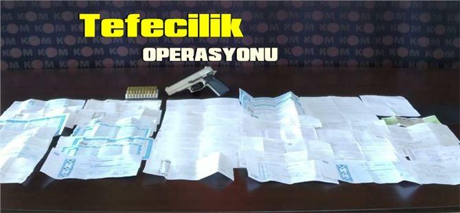 Tarsus'ta tefecilere yönelik operasyon
