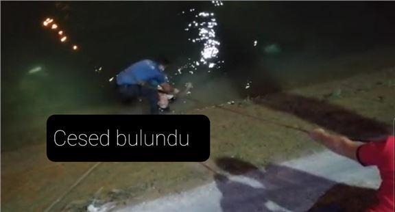 Tarsus'ta sulama kanalında erkek cesedi bulundu