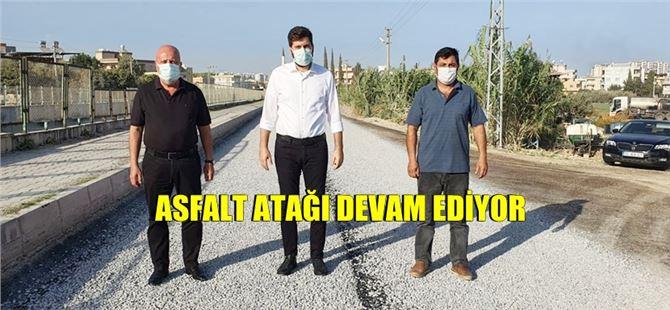 Büyükşehir'den Tarsus'tan Akdeniz'e ulaşan asfalt çalışması