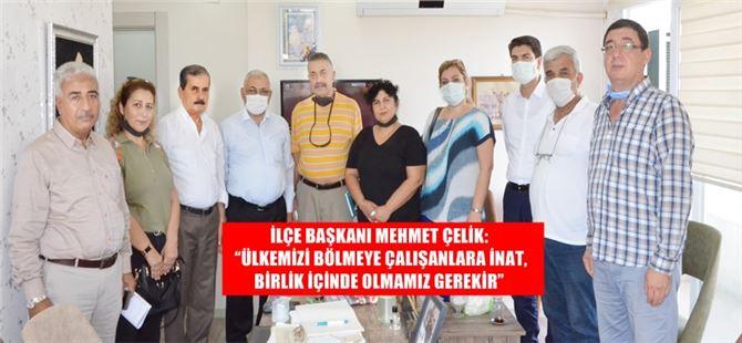 Tarsus MHP'den Akdeniz'e ziyaret