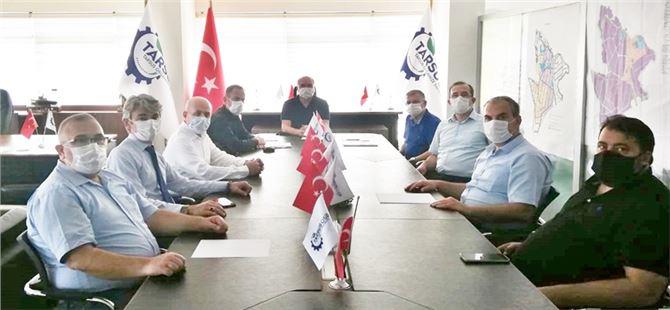 """Kumluca TSO """"Kaş GIDA OSB"""" Projeleri İçin Tarsus'ta"""