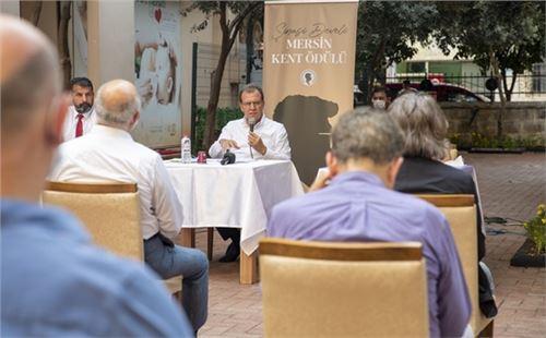 Şinasi Develi Mersin Kent Ödülü için başvurular devam ediyor
