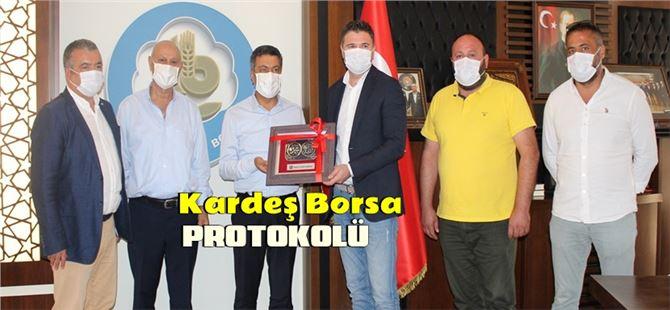 """Ünye ve Tarsus Ticaret Borsası arasında """"kardeş Borsa"""" protokolü"""