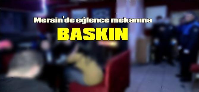 Mersin'de eğlence mekanına pandemi baskını; 79.500 TL ceza