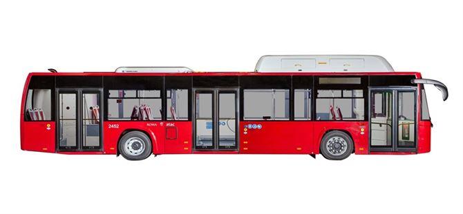 Mersin'e 73 çevre dostu yeni otobüs geliyor