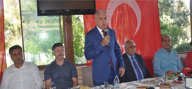 Tarsus MHP, basın mensuplarıyla bir araya geldi