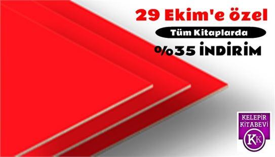 Tarsus Kelepir Kitabevi'nden Cumhuriyet Bayramına özel indirim