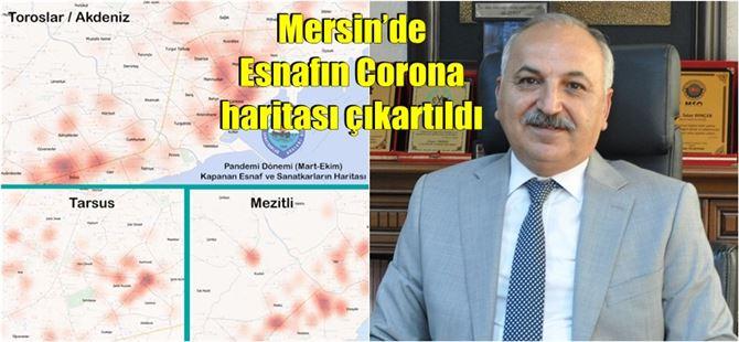 Mersin'de Mart ayından bu yana 1100 işletme kepenk indirdi