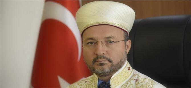 Tarsus Müftüsü Ali Can, Mevlid-i Nebi Haftası dolayısıyla bir açıklama yaptı