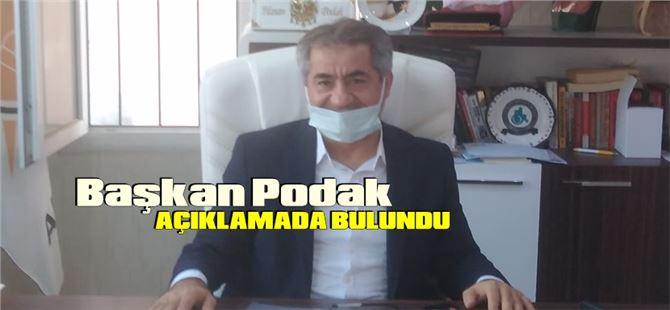 AK Parti İlçe Başkanı Hasan Podak'tan kamuoyuna açıklama