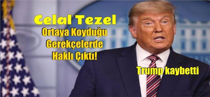 Celal Tezel, Donald Trump'ın bir daha seçilemeyeceğini 9 Nisan'da yazdı