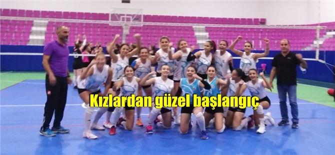 Tarsus Belediye Spor'un kızlarından sezona iyi başlangıç