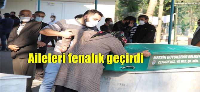 Adana'daki deniz faciasında ölenler Mersin'de toprağa verildi