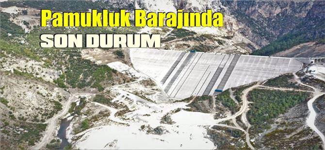 Tarsus Pamukluk Barajı'nın önyüz beton imalatına başlandı