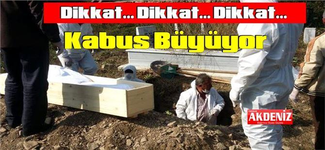 COVID-19 kabusu! Tarsus'ta vefat eden kişi sayısı 142'ye yükseldi