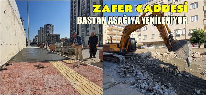 Mersin Büyükşehir, hizmetleriyle Tarsus'ta caddeleri güzelleştiriyor