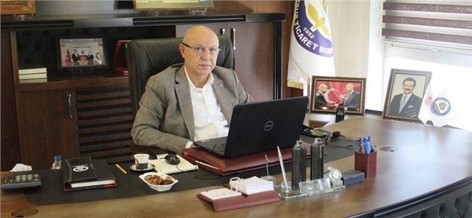 Başkan Kaya, TOBB Türkiye Ekonomi Şurası'na video konferans aracılığıyla katıldı