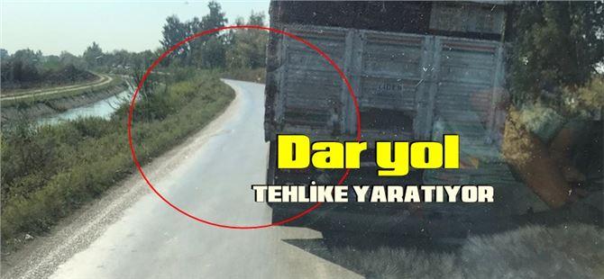 """Erbay: """"Tarsus-Tuzla yolunun genişletilmesi şart"""""""