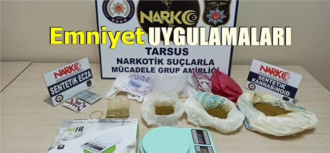 Tarsus'ta aranan 127 şahıs yakalandı