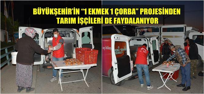 """Tarsus'ta sabah 05.00'te tarım işçilerine: """"1 Ekmek 1 Çorba"""""""