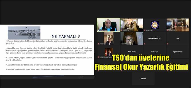 TSO'dan üyelerine Finansal Okur Yazarlık Eğitimi