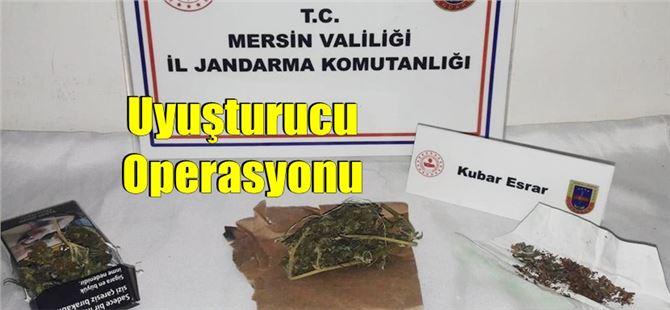 Jandarma'dan Tarsus'ta uyuşturucu operasyonu