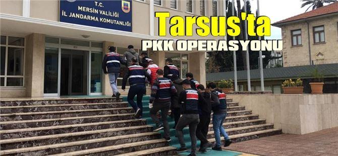 Tarsus'ta eylem hazırlığındaki PKK/KCK Operasyonunda 4 kişi yakalandı