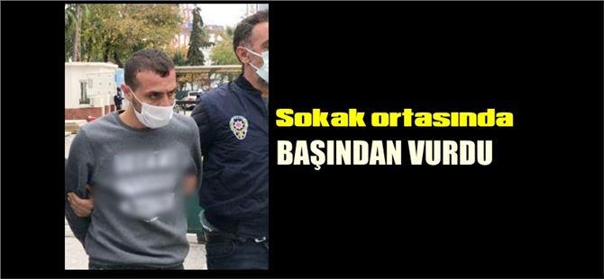 Mersin'de sokak ortasında arkadaşını öldüren zanlı tutuklandı