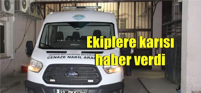 Mersin'de kamyonetin altında kalan şahıs hayatını kaybetti