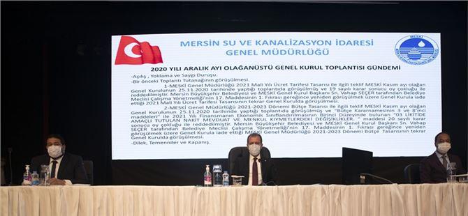 """Başkan Seçer: """"MESKİ'nin çalışmaları 40 noktaya ulaşacak"""""""