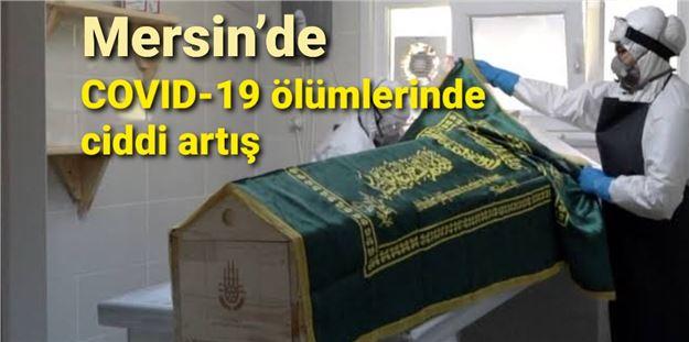 Mersin'de COVID-19 ölümlerinde ciddi artış