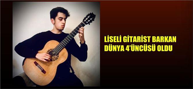 Dünyanın En İyi 4'üncü Gitaristi Tarsus'tan