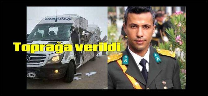 Kazada yaşamını yitiren Teğmen Ahmet Yıldırımer toprağa verildi