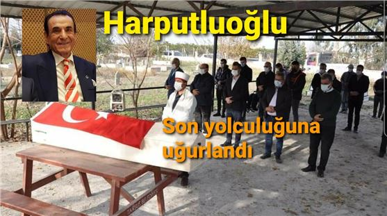 Vefat eden Servet Harputluoğlu toprağa verildi