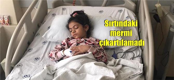 7 yaşındaki Yağmur, maganda kurşunuyla yaralandı