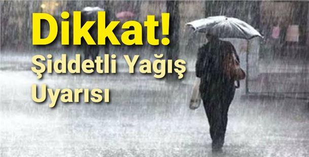 Mersin, Tarsus, Adana ve Hatay için şiddetli yağış uyarısı!