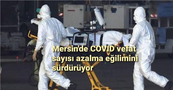 Mersin'de COVID-19 vefat sayısında düşüş yaşanmaya devam ediyor