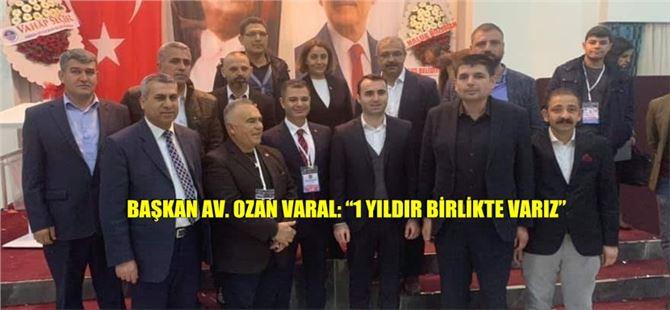 CHP İlçe Başkanı Varal ve yönetim kurulu 1. görev yılını tamamladı