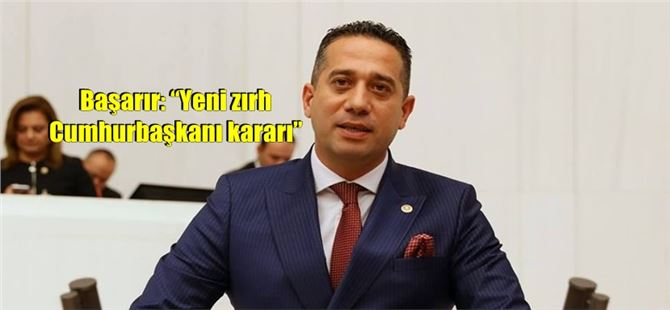 "Başarır: ""Yeni zırh Cumhurbaşkanı kararı"""