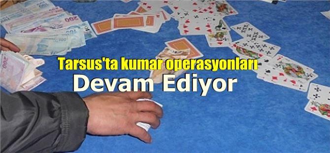 Tarsus'ta boş binada kumar oynayan 20 kişiye 63 bin lira ceza uygulandı