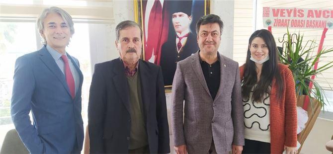 Tarsus Ticaret Borsası'ndan Akdeniz Gazetesine Kutlama Ziyareti