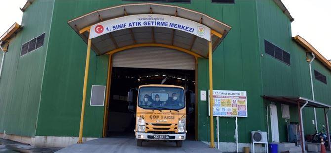 Çukurova'nın ilk atık toplama merkezi'ni Tarsus Belediyesi kurdu