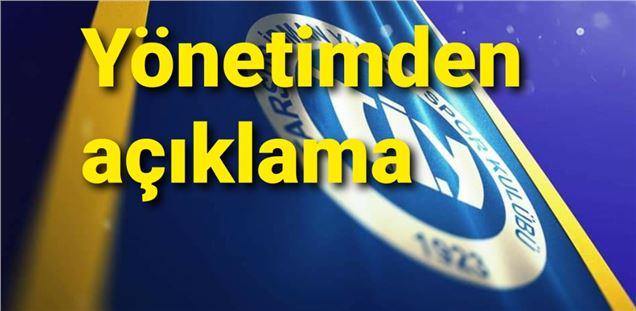 """TiY yönetiminden """"paylaşım, istifa, kongre"""" açıklaması"""