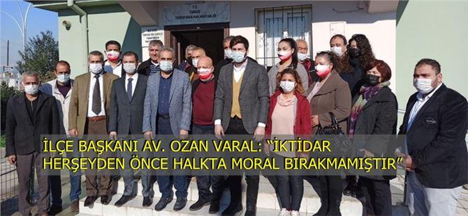 CHP'li yöneticilerden muhtarlara ziyaret