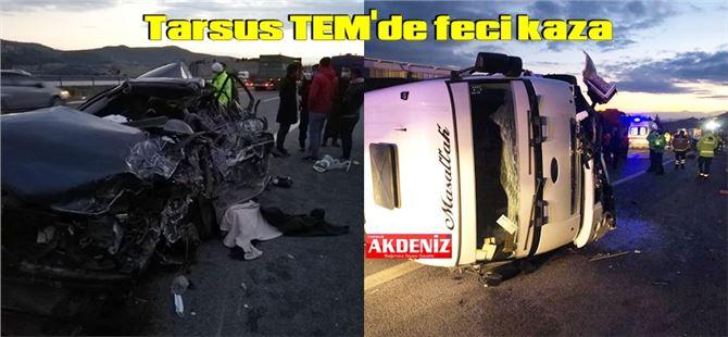 Mersin'deki feci kazada aynı aileden 5 kişi öldü