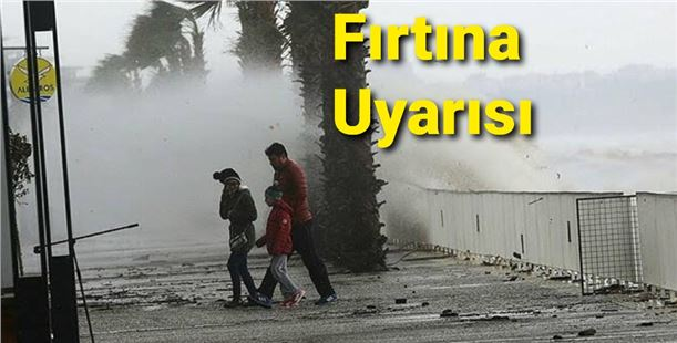 Batı ve Orta Akdeniz için fırtına uyarısı!