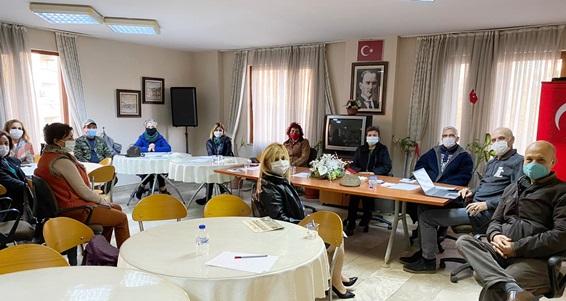 Kent konseyi yürütme kurulu toplantısı yapıldı
