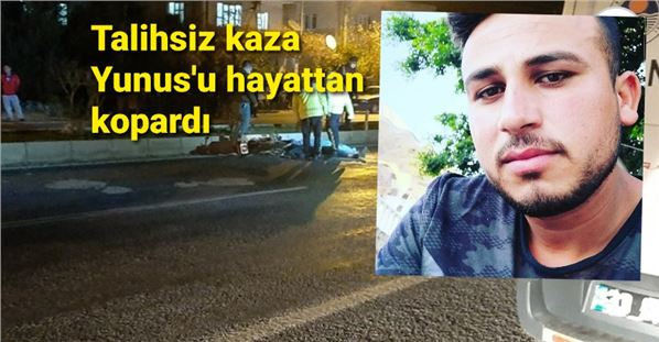 Motosikletiyle kaza yapan genç sürücü yaşamını yitirdi